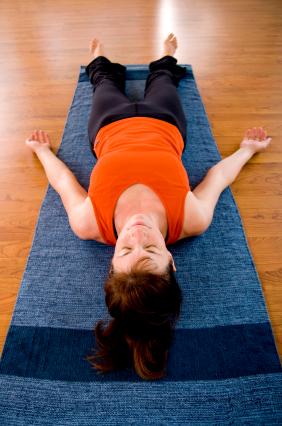 yoga pose corpse pose  yogaclassplan
