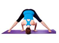 yoga pose widelegged forward bend  yogaclassplan