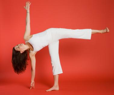 Yoga Pose: Half-Moon Pose | YogaClassPlan.com