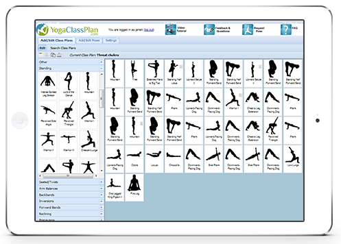 Yoga Pose Sequence Builder An App Designed For Yoga Teachers