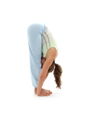 yoga pose standing forward bend  yogaclassplan