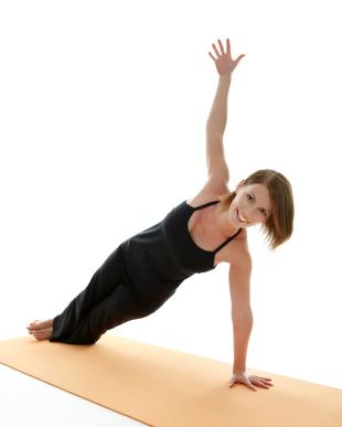 yoga pose side plank pose  yogaclassplan