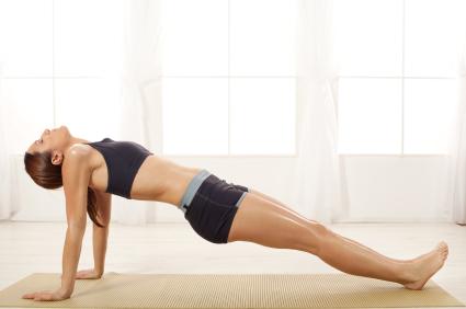 Upward Facing Plank Pose