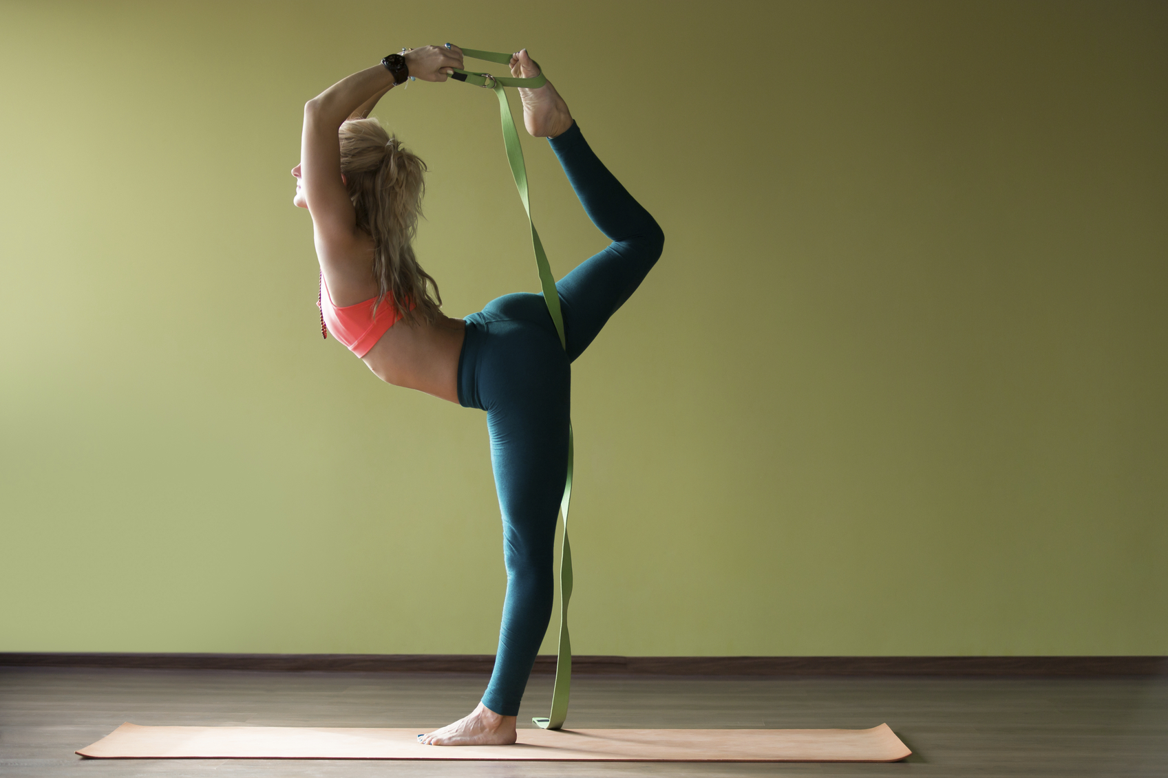 Using props to teach Yoga