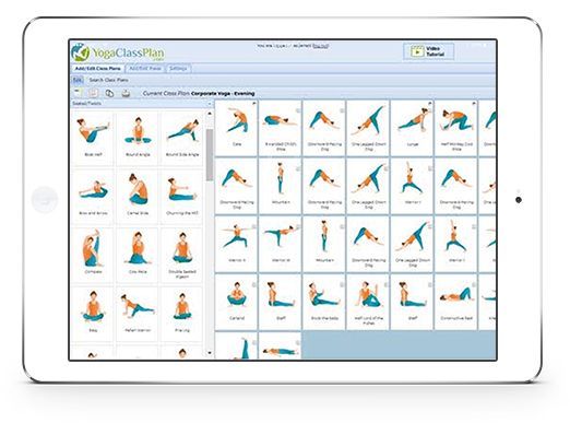 yoga pose sequence builder