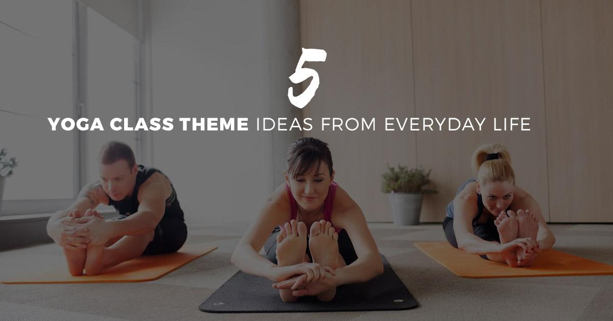 Yoga Class Theme